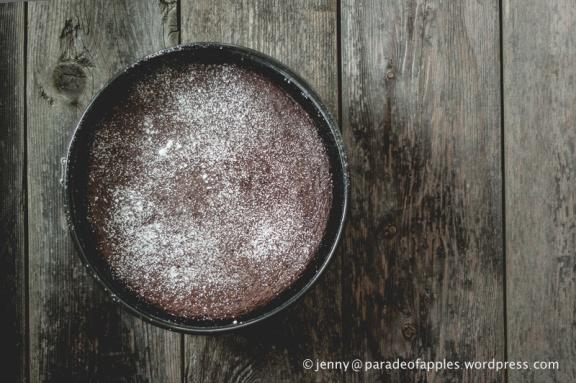 Flourless Choco Cake-7584