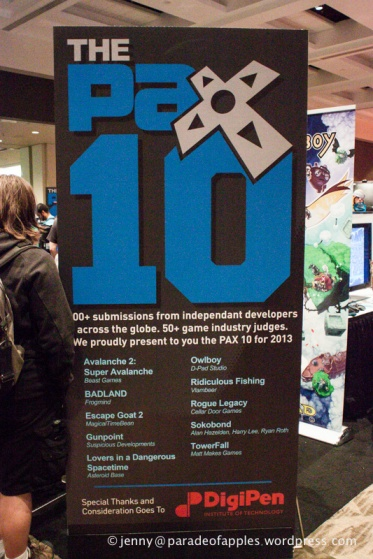 Congratulations to my brothers on making the Pax 10 with Rogue Legacy!