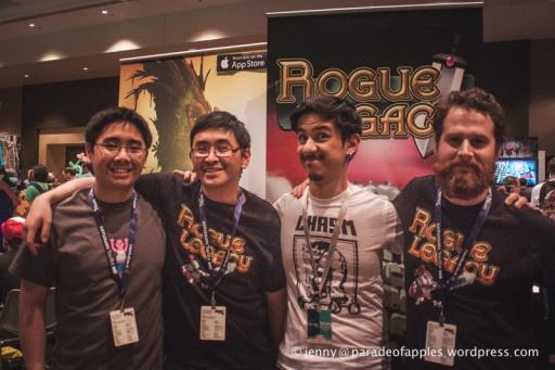 Meet some of the team!  Kenny (programmer), Teddy (designer), Glauber (artist), Gordon (Musician)