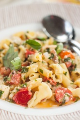 Vegetarian pasta option