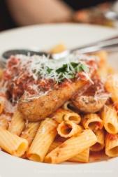 Italian Sausage/Meatball Pasta